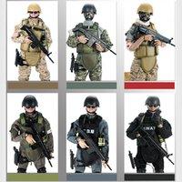 uniformes do exército negro venda por atacado-Movable 5 Estilo de 12