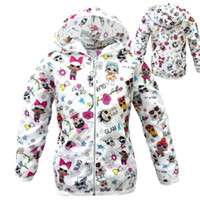 Wholesale baby summer clothing white resale online - Designer Clothes Baby Boy Girl Sun Protection Clothing Kid Summer Coat Cartoon LOL Clothes Toddler Spring Jacket Child Coats
