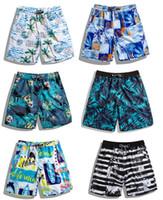 homens de banho de verão venda por atacado-Top 2019 calças de praia dos homens de solta edição verão à beira-mar férias de surfe de natação à deriva Shorts, homens Swim Shorts Swim Trunks Maiôs