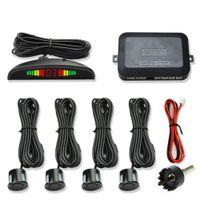 Wholesale sells car park for sale - Group buy Hot Selling Car Parktronic Led Parking Sensor With Sensors Reverse Parking Radar Monitor Detector System Backlight Display