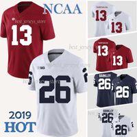 penn state nittany lions venda por atacado-13 Camisas de Tua Tagovailoa Saquon Barkley Penn State Nittany Lions Alabama Crimson Tide Futebol Jersey College NCAA qualidade superior