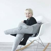 ingrosso scherma animale-ins Cuscino coccodrillo per bambini North American comfort pillow baby recinzione camera dei bambini Super Big Animal decorazione del cuscino giocattoli