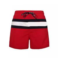calções de praia natação venda por atacado-Nova Moda Mens Shorts Casuais Cor Sólida Board Shorts Homens Verão estilo Praia Calções De Natação Homens Esportes Curto