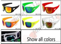 Wholesale sunglasses mixed colours resale online - summer newest style man sport colors sunglasses Cycling glasses woman NICE FACE Take the sunglasses Dazzle colour glasses