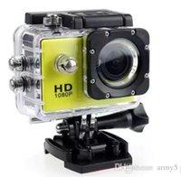 жк-экран для камеры шлема оптовых-4k камера SJ4000 в стиле A9 2-дюймовый ЖК-экран камеры 1080P Full HD Экшн-камера 30M Водонепроницаемые видеокамеры SJcam Helmet 2019