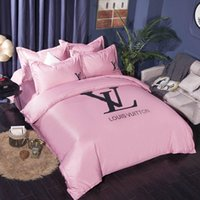 Wholesale bedding d for sale - Group buy Bedding Suit VE Letter Fashion Europe and America Quilt Cover Sets Tide Lovers Room Pieces High Quality Suit
