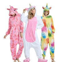 Wholesale onesie for boys for sale - Group buy Kigurumi Pajamas For Women Pyjamas Unicorn Anime Panda Onesie Animal Stitch Costume Boy Sleepwear Flannel Adults Pijama Women