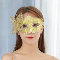 vestidos de gato para mulheres venda por atacado-New Girls Mulheres Sexy Bola Lace máscara do disfarce Dança Partido Eye Mask Cat Máscara Halloween