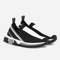 Chaussures de luxe pour hommes de marque Sorrento Sneaker en tissu Stretch Jersey Sneaker Lady Lady en caoutchouc bicolore Micro Sole Casual Shoes