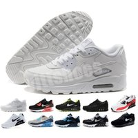Wholesale Mens Shoes classic Men and woman Shoes Black Red White Trainer Air Cushion Surface Breathable Casual Shoes Y0036