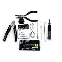 Wholesale vape rebuilt tools kit for sale - Group buy 2020 VIVISMOKE PREMIUM vape tool DIY KIT New vapeTool Kit For RDA RBA Atomizer Rebuilding Vape Mod