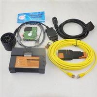 bmw icom a2 hdd toptan satış-BMW ICOM Için V2019.03 A2 + B + C Teşhis ve Programlama Aracı ICOM Tarayıcı ile Yazılım HDD