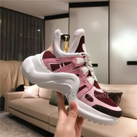 Wholesale striped platform shoes for sale - Group buy Cheap Luxury Designer Men Women Casual Shoes Cheap Best Quality Fashion Sneakers Party Platform Shoes Arch Walking Chaussures Sneakers