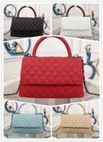 Wholesale cowhide woman wallet brand online - Designer Luxury Handbags Wallet Classic Plaid Brand Crossbody bag High Quality cowhide Leather Luxury Designer tote bag