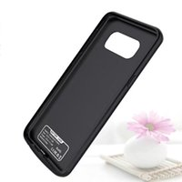 рок-телефон оптовых-Мобильный телефон 5000mah Power Banks Case зарядное устройство для Samsung S8 аккумулятор зарядка Case на складе бесплатно DHL