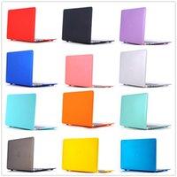 клавиатурные гильзы оптовых-Новый ноутбук чехол для MacBook Air Pro Retina 11 12 13 15 Mac Book 15,4 13,3 дюйма с сенсорным Bar Рукав Shell + крышка клавиатуры