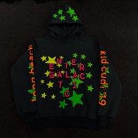 estrelas moletons com capuz venda por atacado-20FW CPFM.XYZ X KANYE Estrelas Joint Stereoscopic noctilucentes Printing Hoodies Homens Mulheres moletom com capuz Rua Casual Pullover HFHLWY125