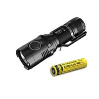 Wholesale u2 flashlight for sale - Group buy NITECORE MH20 Lumens CREE XM L2 U2 CRI LED USB Rechargeable Flashlight