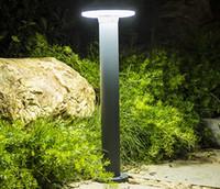 luzes de poste de luzes ao ar livre venda por atacado-60 CM Ao Ar Livre Paisagem Gramado Lâmpada À Prova D 'Água Villa Jardim Pátio Stand Pólo Luz Moderna Parque Comunidade Post Lamp