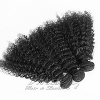 Wholesale hair for afro weave resale online - VMAE Brazilian Remy Virgin Hair Afro Kinky Curly Weft Bundles A B C Curly Weaves Human Hair Extensions Cuticle Aligned For Women