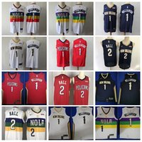Wholesale quality good jersey resale online - Edition Earned City Zion Williamson Jersey Lonzo Ball Men Basketball All Stitched Team Color Navy Blue White Red High Good Quality