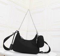 monederos al por mayor-Bolsos de hombro del diseñador de alta calidad de cuero bolsos de diseño más vendido cartera mujeres empaqueta el bolso de Crossbody de lujo bolsos hobo con la caja