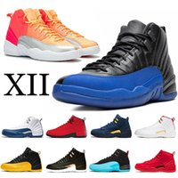 Wholesale games box arts for sale - Group buy 2020 New Hot Punch Mens basketball shoes XII Game Royal s Jumpman FIBA Hyper Jade Black Nylon Michigan Taxi Mens trainer