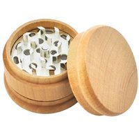 Wholesale wood herb grinders for sale - Group buy New Metal Wooden wood Tobacco Herbal Hand Muller Dry Herb Grinders layers mm For Smoking Tool Accessories Pipes