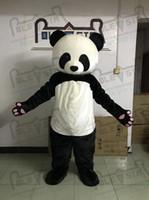maskot kostüm kafaları toptan satış-DİREK YILDIZ MASCOT KOSTÜM EVA kafa kaliteli peluş panda maskot kostümleri sevimli vahşi hayvan yürüyüş aktör yetişkin sahne fanct elbise