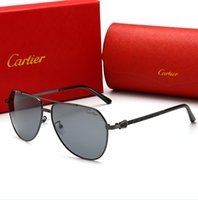 Wholesale ms sunglasses for sale - Group buy High quality ms eyes fashion sunglasses in summer men Luxury Designer Brand L Cartier L sunglasses