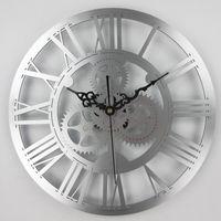 ingrosso orologi meccanici antichi-Orologio da parete meccanico antico d'epoca orologio da polso meccanico vintage Grande parete per la decorazione del soggiorno casa d'arte