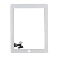 verre ipad2 achat en gros de-Pour iPad 2 A1395 A1396 A1397 Écran Tactile Digitizer Capteur Panneau De Verre Panneau Tablet Remplacement Pour iPad 2 Écran Avec Bouton Accueil