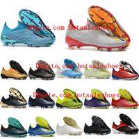 botas messi al por mayor-2019 Nuevos zapatos de fútbol para hombre X 19 FG botines de fútbol nemeziz Crampones de x 18 fg botas de fútbol scarpe calcio messi Hot