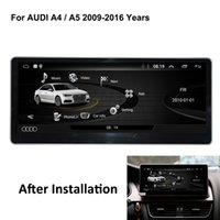 Wholesale audi a4 bluetooth for sale - Group buy COIKA Android System G RAM Car DVD GPS Receiver For Audi A4 A5 IPS Mirror Screen Google Carplay WIFI BT SWC DVR