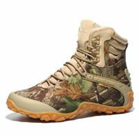 ingrosso scarponi da caccia di montagna-Scarpe da trekking impermeabili professionali antiscivolo scarpe da trekking di montagna Outdoor Arrampicata Caccia Scarpe 8 N ° 20 / 20D50