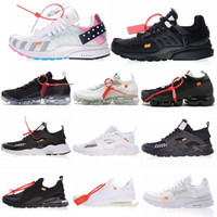 Wholesale mens black leather casual shoes resale online - Runningman Presto Shoes Casual Trainers White Black Sports Outdoor Run Shoe For Mens Womens Athletic Sneakers Shoes