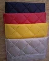 ingrosso nuove borse mini-Vendita calda! Nuovo 2019 classico marchio CC moda Mini portafoglio con supporto famoso logo nero PU sacchetto di carta sacchetto della moneta regalo del partito regalo VIP 3026