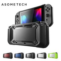 Wholesale consoles accessories resale online - Hard Shell Case For Nintend Switch Shockproof Protective Case For Nintendo Switch Console Ns For Nintend Switch Case Accessories T190624