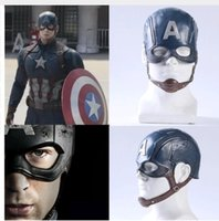 Wholesale helmets america for sale - Group buy Movie Captain America Civil War Captain America Mask Cosplay Steven Rogers Superhero Latex Helmet Halloween For Men Party Prop