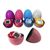 Wholesale electronic bird resale online - Tamagotchi Electronic Pets Dinosaur egg High Quality S Nostalgic Pets in One Virtual Cyber Funny Pet Toy Christmas Gift0442