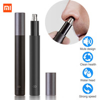 Wholesale nose men for sale - Group buy Xiaomi mijia Electric Mini Nose hair trimmer HN1 Portable Ear Nose Hair Shaver Clipper Waterproof Safe Cleaner Tool for Men
