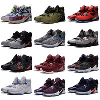innovative design 807e7 98214 2019 New What the Lebron 13 mens basketball shoes for sale MVP Christmas  BHM Blue Easter Outdoor Shoes