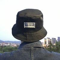 31d91e47 Fashion Letter Sun Embroidery Fisherman Hats Men Women Cotton Street Hip  Hop Bucket Hat Fishing Cap C19041001