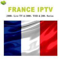 ingrosso box tv supporto-abbonamento iptv francia per belgio francese IPTV elenco canali vod live supporto chromecast m3u mag enigma2 smart tv android tv box h96 max