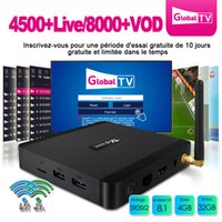 Wholesale free tv iptv for sale - IPTV Box TX5 Max Android Amlogic S905X2 Smart Tv Box Dual Band G Wifi M Lan Bluetooth USB3 free iptv subscription france