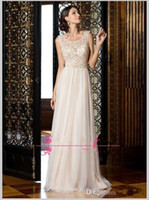 Wholesale glitter carpet online - 2019 New Sparkly Long Chiffon Evening Dresses Crystal Beading Glitter Illusion Neckline New Sexy Hollow Back Floor Length Party Formal Prom