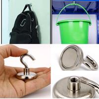 ванные комнаты с магнитом оптовых-Магнит Мощный Мощный Магнитный Крюк Кухонный Холодильник Ванная Комната Вешалка Для Хранения Магнитный Крюк Спальня Крючки