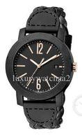 lederwebart uhren großhandel-2019 Top-Qualität Luxus Quarz Herrenuhr 40mm Damen Sportuhren 102632 Woven Leder Business Waterproof Wristwatch Kostenlose Lieferung