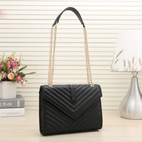 Wholesale plain clutch bags purses for sale - Group buy 2020 new high qulity classic womens handbags ladies composite tote PU leather clutch shoulder bags female purse