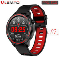 Wholesale lemfo bluetooth smart watch for sale – best LEMFO L8 ECG PPG Smartwatch IP68 Bluetooth Smartwatch Android IOS Support mAh Smart Sport Watch for Men Health Tracker SH190929